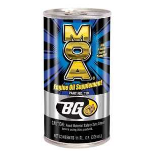 Pack Bg MOA Motor Oil Additive (2) 11oz. Cans